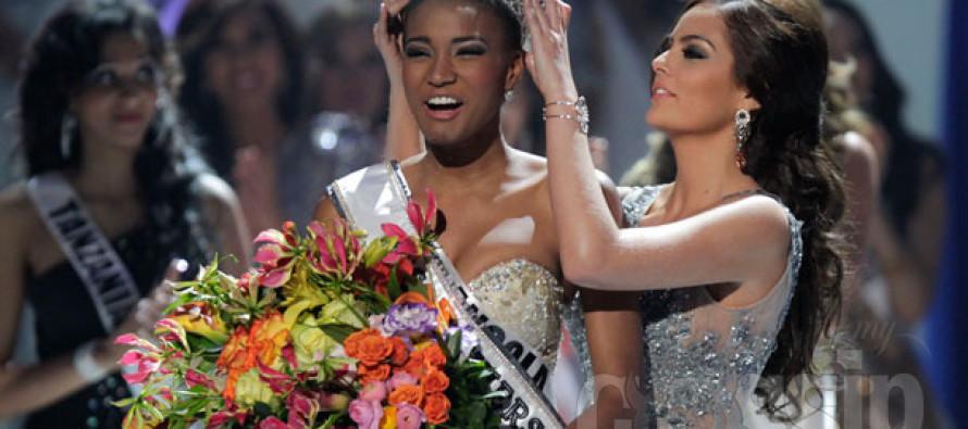 Miss Universe 2011 on kaunis Miss Angola Leila Lopes! Palju õnne!