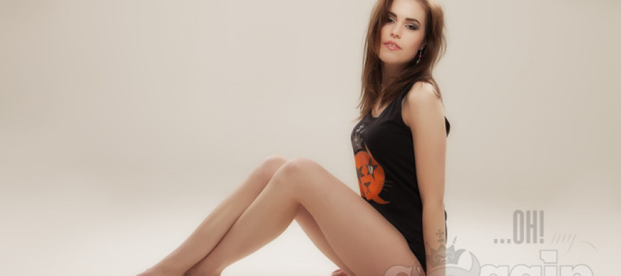 Kaunis Miss Earth Norway 2011 Marion Dyrvik Homlong Ohmygossip Couture'i fotosessioonil Norras