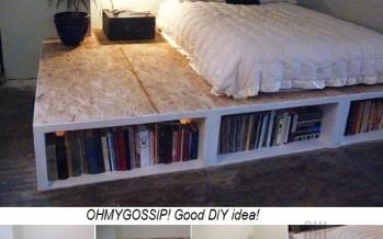 DIY: Tee endale mõnus ja hubane raamaturiiul-voodi!
