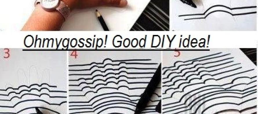 DIY: Tee oma käest mälestuseks ruumiline pilt seinale!