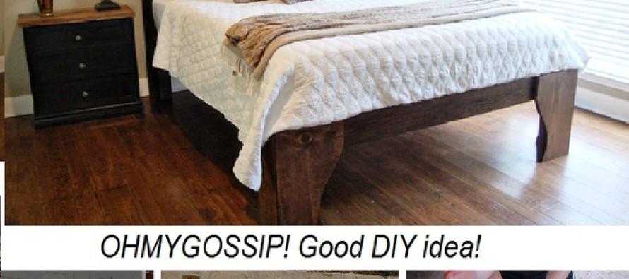 DIY: Tee endale kaunis ja looduslik voodi!