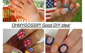 DIY: Tee endale olümpiamängudest inspireeritud maniküür