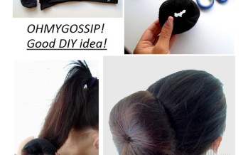DIY: Tee endale froteesokist juuksekrunn!