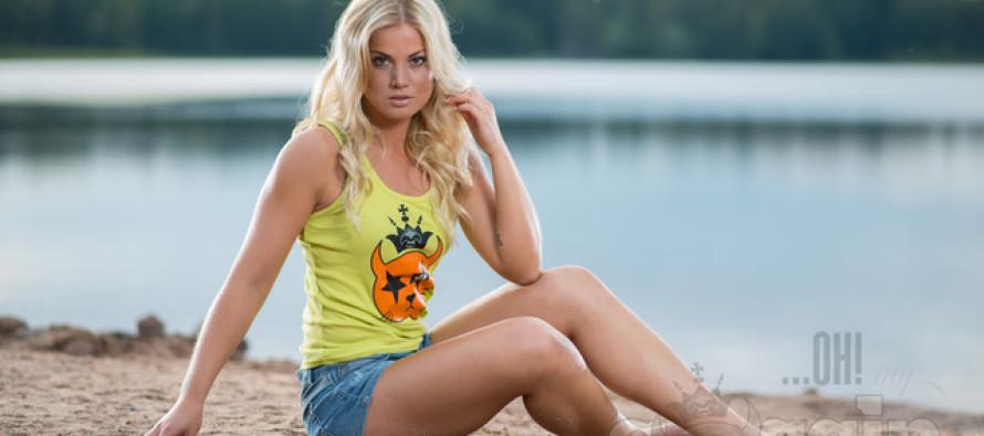 Ohmygossip Couture moe-eri Soome fitness staar Janni Hussi'ga