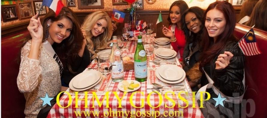 Miss Universe 2012: Õhtusöök Buca di Beppo's