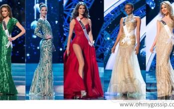 Miss Universe 2012: Top15 ja Top5 õhtukleidid!