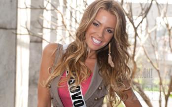 Leonardo DiCaprio semmib Miss Universe Kosovo Aferdita Dreshaj'ga?