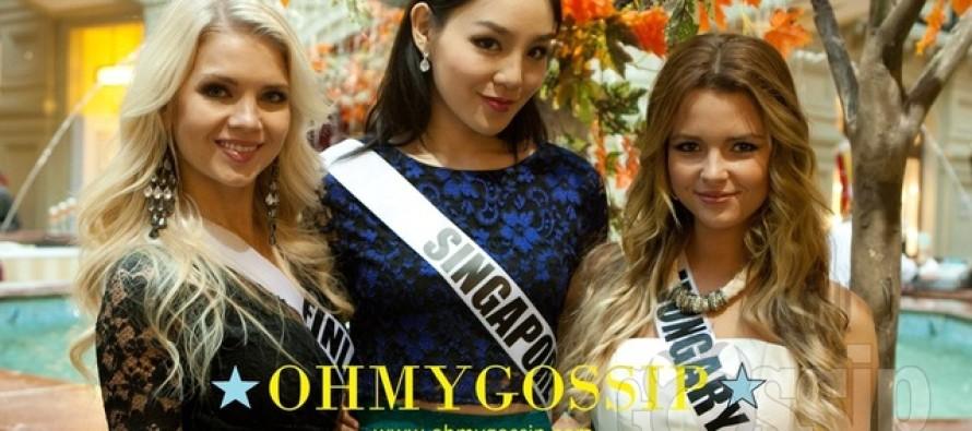 Miss Universe 2013: Missid külastasid Punast väljakut ja luksuskaubamaja Gum. Suur galerii!