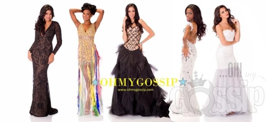 Miss Universe 2013: Missikandidaadid poseerivad õhtukleitides (Vol4)