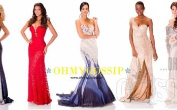 Miss Universe 2013: Missikandidaadid poseerivad õhtukleitides (Vol2)