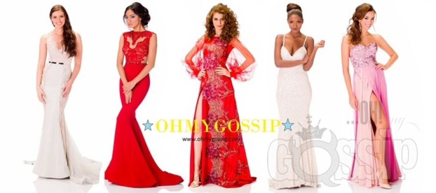 Miss Universe 2013: Missikandidaadid poseerivad õhtukleitides (Vol1)