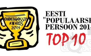 "Ohmygossip Awards: ""Populaarseim persoon 2014"""