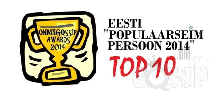 "Ohmygossip Awards: ""Populaarseim persoon 2014"""