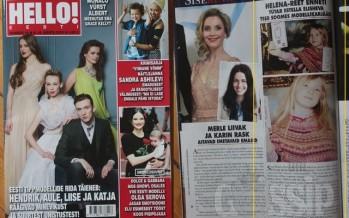 Hello! Magazine: Helena-Reet Enneti tütar Estella Elisheva teeb Soomes modellikarjääri