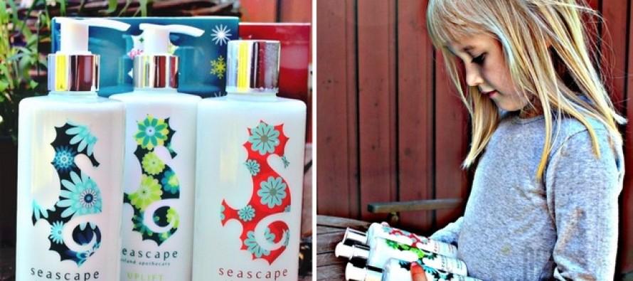 Ivanka Shoshana'st sai Seascape Island Apothecary reklaamnägu