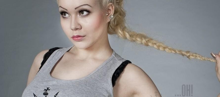 KUUMAD KAADRID! Soomlanna Marianne Kallio poseerib Ohmygossip Couture'ile