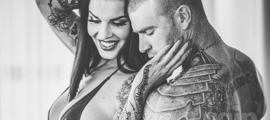 Soome Pin-up modell Sini Ariell abiellus austraallasest kallimaga