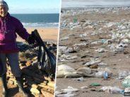 MITTE KUNAGI pole liiga hilja planeet Maa eest hoolitseda: 70-aastane proua puhastas ühe aasta jooksul 52 erinevat randa! + FOTOD!