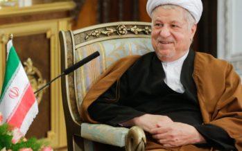 Suri endine Iraani president ja kõrge vaimulik Akbar Hāshemī Rafsanjānī