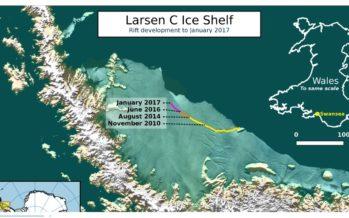 Teadlased: Antarktika küljest võib lähiajal murduda hiiglaslik jäämägi