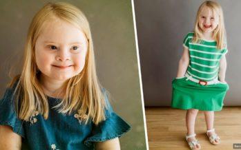 SÜDANTSOOJENDAV: 8-aastane Downi sündroomiga tüdruk trotsib ootusi, saades edukaks modelliks + VIDEO!