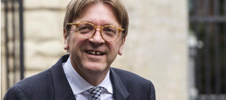 Guy Verhofstadt kandideerib europarlamendi juhiks
