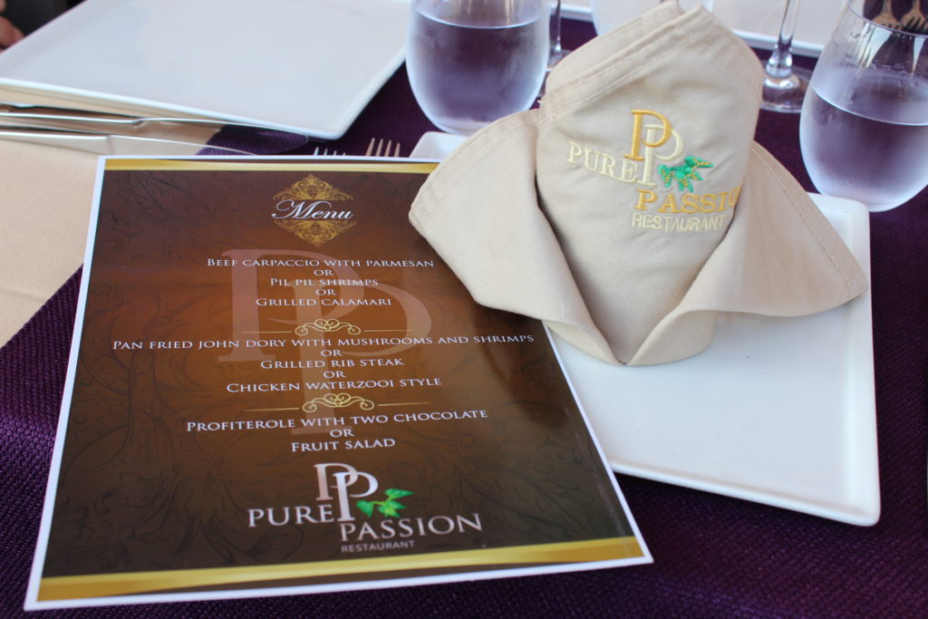 Pure Passion restaurant