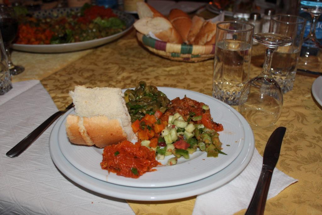 Maroko, Morocco food, Taroudant City Palais Salam