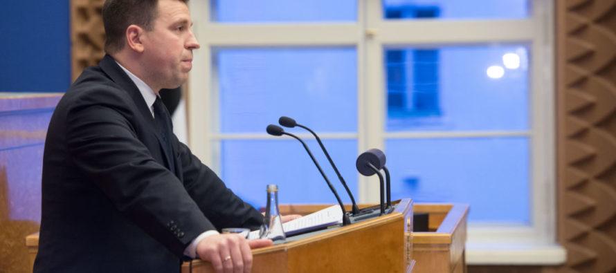 Palju õnne! Peaminister Jüri Ratas ja tema abikaasa Karin Ratas saavad neljanda lapse