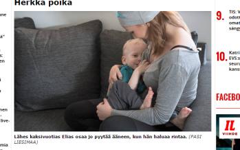 Kaheaastast poega imetav Katri Sorsa: Jätkan imetamist 5-6-aastaseni