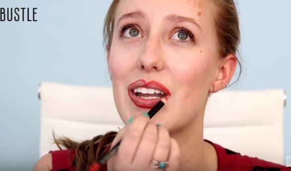 VÄGA HUMOORIKAS! Naised teevad peegli abita meiki + vaata VIDEOST, kuidas tulemused tulid!