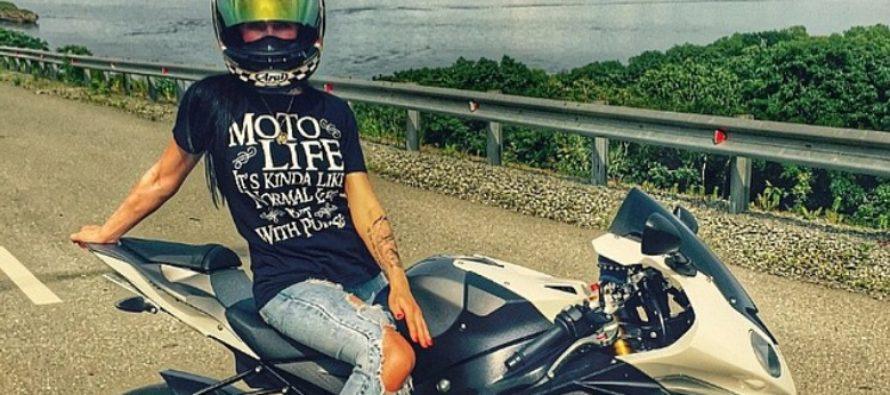 TRAGÖÖDIA: Venemaa seksikaim mootorrattur Olga Pronina sõitis end surnuks