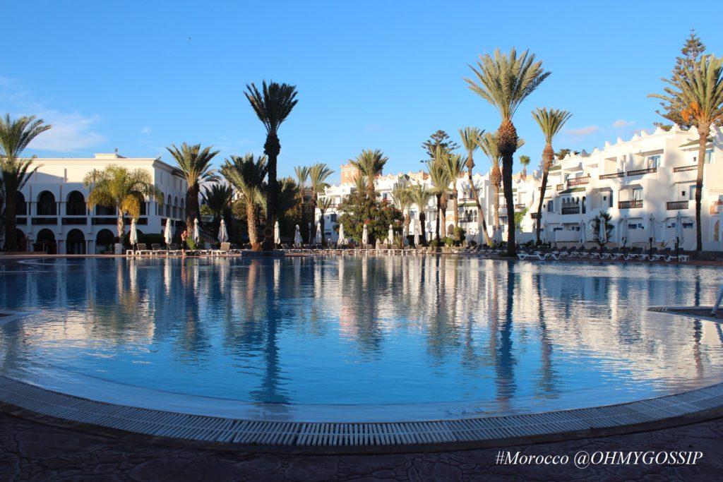 Morocco, Agadir Palace hotel