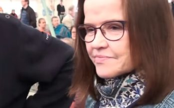 Meeleavaldajad üritasid tungida Helsingis siseministeeriumi hoonesse