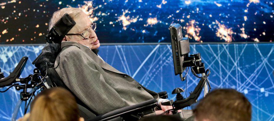 Kosmoloog ja füüsik Stephen William Hawking sai 75-aastaseks