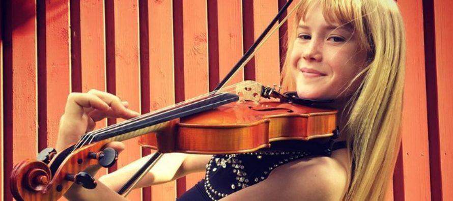 Eksklusiiv! Noor viiuldaja Estella Elisheva kiidab Eesti teatreid