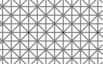 FOTO, mille illusioon on miljonite inimeste pea segi ajanud. Mitut punkti näed korraga?