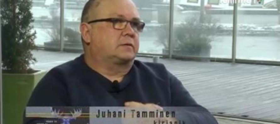Soomlaste Põdra-TV esimese saate külaline oli kirjanik Juhani Tamminen
