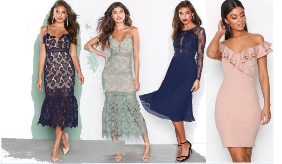 JÄTTESTOR kollektion vackra klänningar för examensfest och