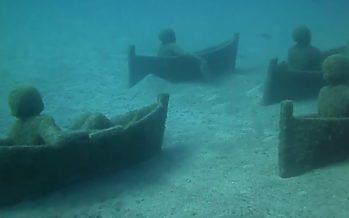 Hämmastav veealune kujudemuuseum Lanzarote saarel