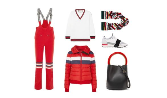 LUXURY shopping – punase & valgega sportlik komplekt (Look #2)