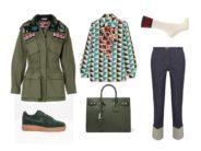 LUXURY shopping – Navy green igapäevaseks kandmiseks (Look #3)