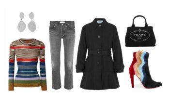 LUXURY shopping – must ja triibud (Look #4)