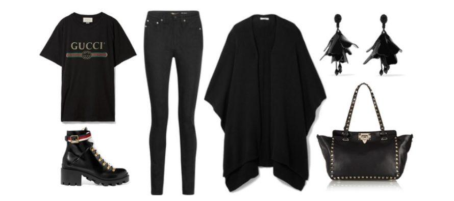 LUXURY shopping – Üleni must vabaajarõivas (Look #5)