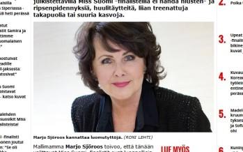 Modellimamma Marjo Sjöroos Soome missivõistlustest: Vajame rohkem loomulikkust!