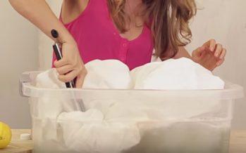 8 NIPPI mida järgida, et valge pesu püsiks võimalikult kaua valgena