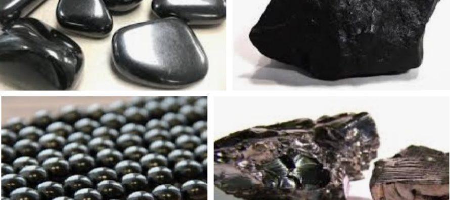 TERVENDAV vee-eliksiir: Šungiit on tervendav kristall, mille koostises olevad fullereeni molekulid puhastavad vett