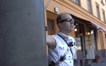 Soome ainus superkangelane hüüdnimega Laserskater oma isikut ei soovi avalikustada: pean päevikut kõigi oma heategude kohta + VIDEO!